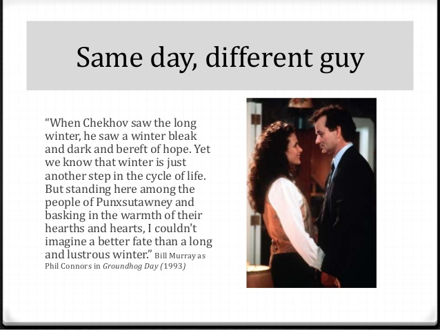 Groundhog Day Movie Quotes Brilliant Existential Movie Groundhog Day  Cal Ledbetter Counseling